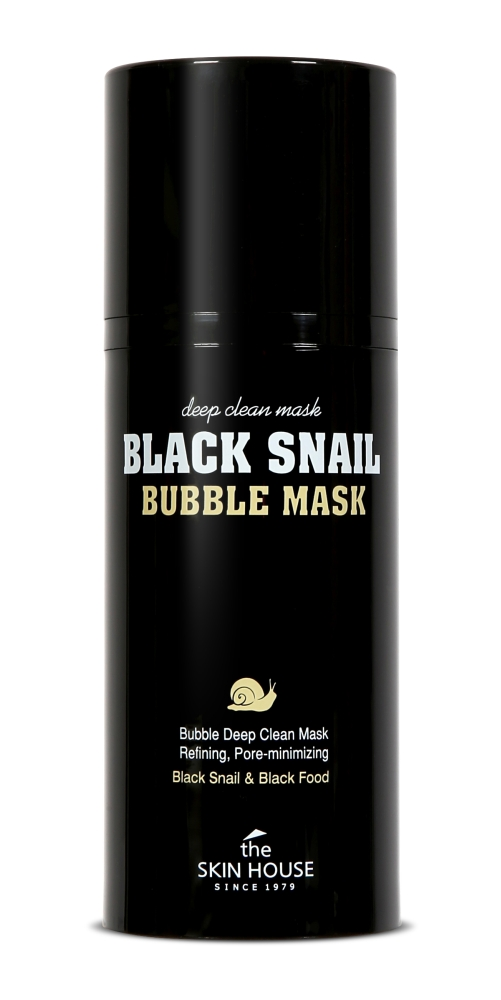 b868ffc573b The Skin House Black Snail Bubble Mask – must vahutav mask teolima ja  puusöega